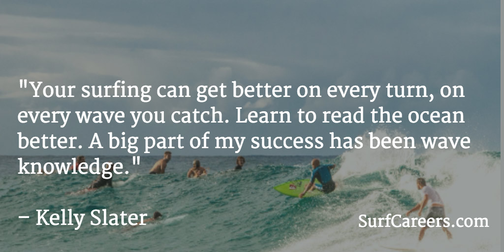Learn to read the ocean better