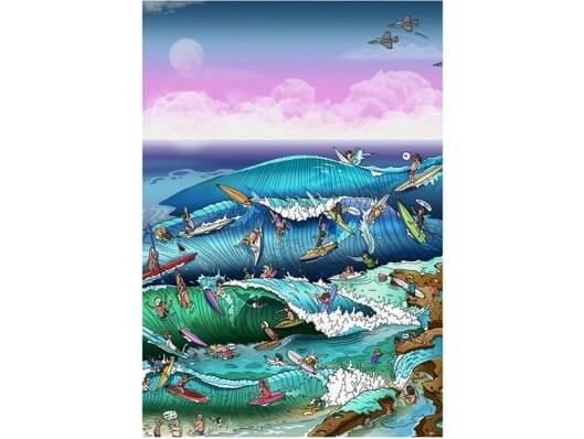 Mitch Revs Artist Surfcareers