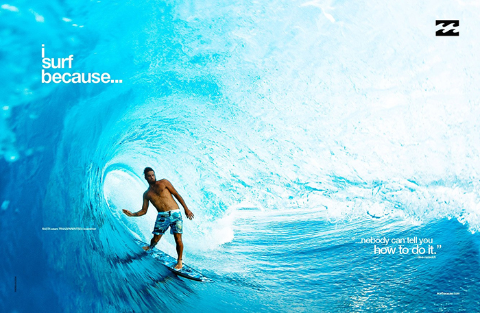 Billabong - I Surf Because